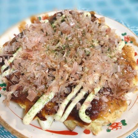 Okonomiyaki and Yakisoba class in Osaka