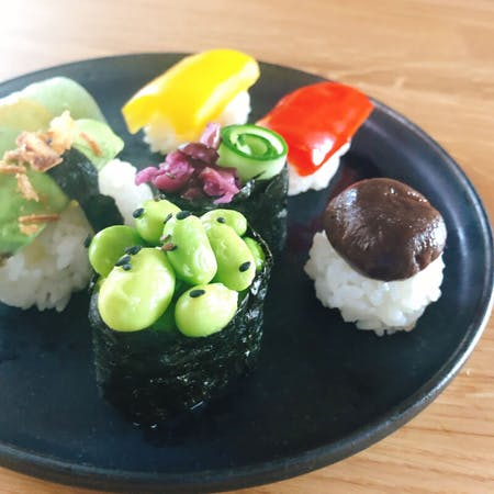 Vegetarian Vegan Sushi making experience