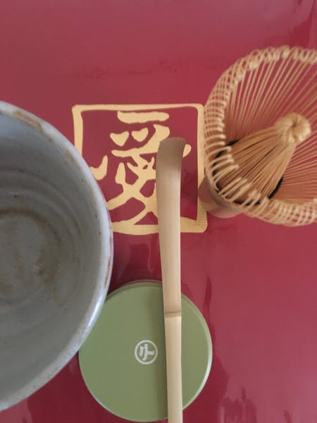 Ramen  dumplings and tea ceremony