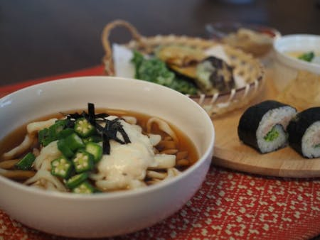 Handmade Udon cooking class at Osaka.
