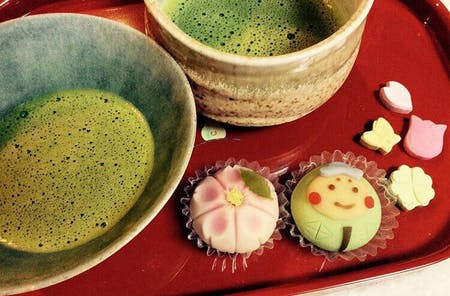 Let's enjoying usually housemade  Japanese food and traditional tea ceremony
