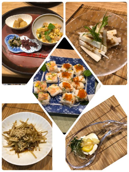 Would you like to make sushi together and experience tea ceremony?