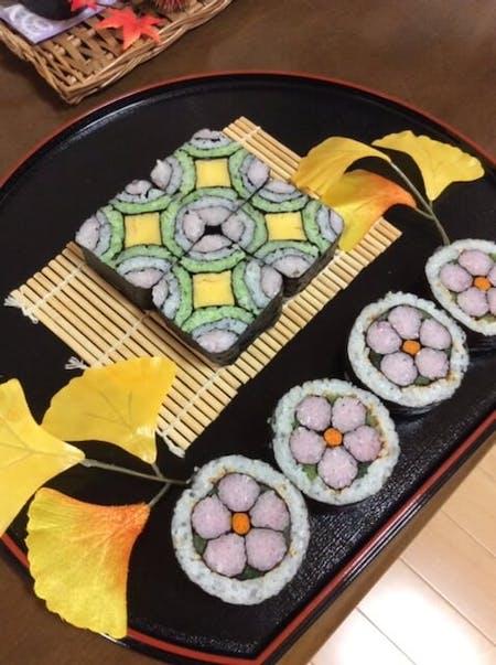 ・ Maki sushi  ・Japanese sweet