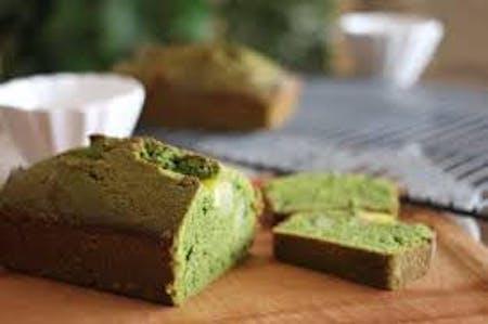 Vegan matcha pound cake -gluten free-