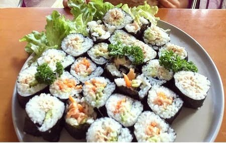 Sushi rolls and Ramen with Chika -  Kids are also welcome!