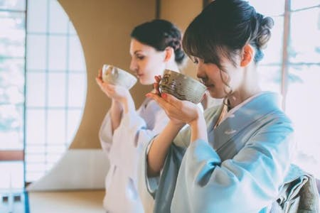 Let\'s enjoy WAGASHI & TEA CEREMONY at Nishigamo in KYOTO \'Japanese sweets & Japanese tea\'(TYPE A)