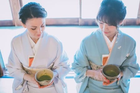 Let\'s enjoy WAGASHI & TEA CEREMONY at Nishigamo in KYOTO \'Japanese sweets & Japanese tea\'(TYPE B)