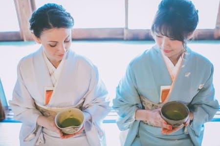 Let\'s enjoy WAGASHI & TEA CEREMONY at Nishigamo in KYOTO \'Japanese sweets & Japanese tea\'(TYPE B)