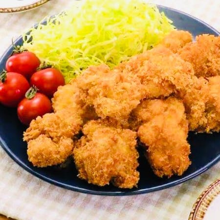 Chicken breast cutlet with chicken breast