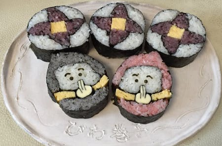 Maki sushi & decorative maki sushi experience