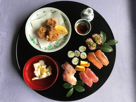 Sushi in my home style