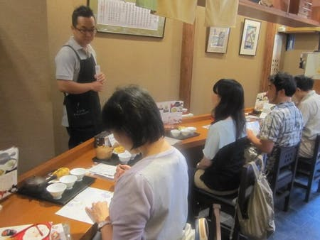 Experience charme of Japanese green tea and Mizuhiki, traditional art\r\n                 Japanese tea pot for your souvenir!!