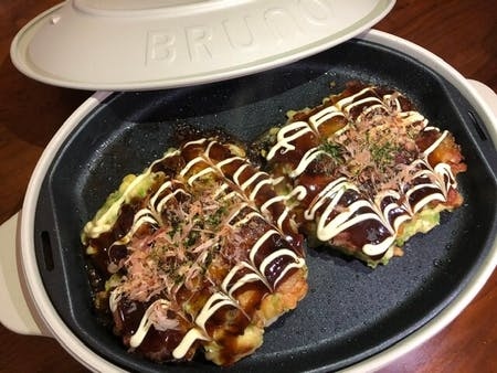 Japanese Pizza Okonomiyaki!