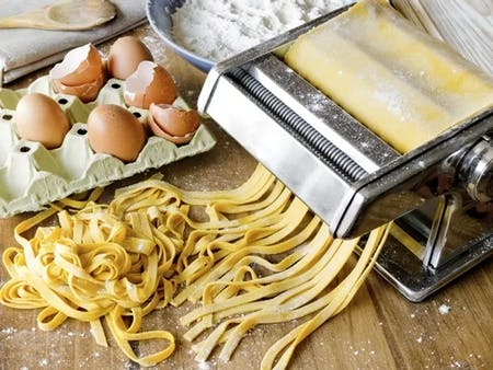 Online Fresh Pasta Cooking Class directly from Italy