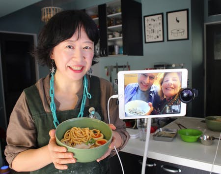RAMEN All SCRATCH Online Cooking Class From Tokyo!!(Chicken Ramen/Veggie Ramen /Vegan Ramen/Gluten-free Ramen)Great Gift Idea to Your Family,Friend,Yourself!