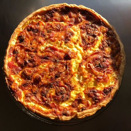 Online cooking class: Quiche from scratch!