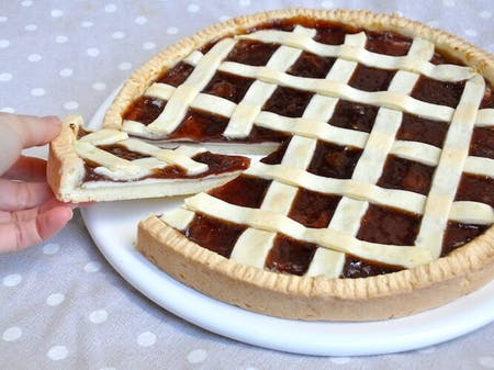 Online Crostata Pie and Biscuits cooking class directly from Italy