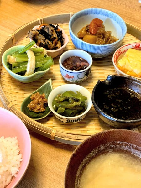 Kyoto style Japanese home dishes online cooking