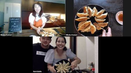 Online cooking class : GYOZA from scratch