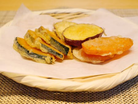 //Online cooking class//Crispy vegetable Tempura and miso soup for vegans and vegetarians.