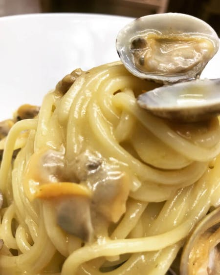 Online live cooking class: Spaghetti with clams