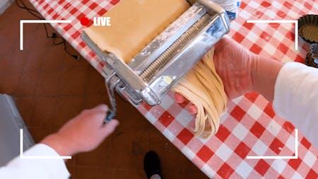 ONLINE | Handmade Pasta live lesson | Live from Sorrento