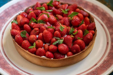 Taste of France - Quiche & Strawberry Tart - ONLINE French cooking lesson