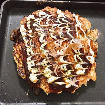 Let\'s make Osaka okonomiyaki together