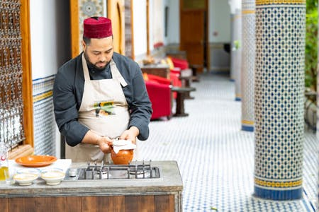 Lift the lid on Moroccan Cuisine: Intermediate online cooking course - Ten 1 hour workshops