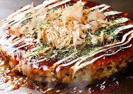 Okonomiyaki cooking online class