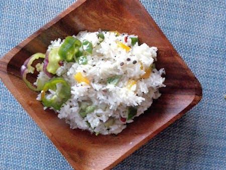 Vegan/Vegetarian Indian Thali