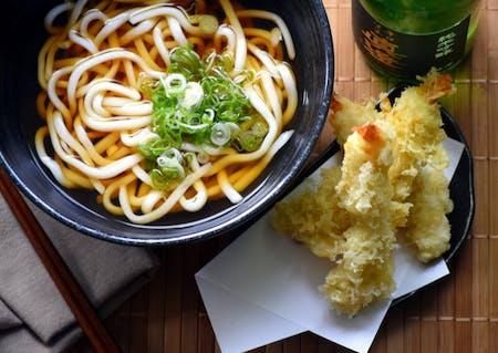 Tempura Udon - Online Cooking Class
