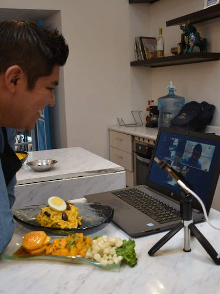 ONLINE Enjoy and Learn Peruvian Cuisine (Causa Limeña y Aji de Gallina) - You tell me what time do you want the class and I´ll get ready for it!!