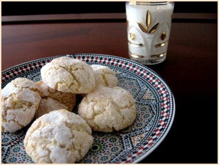 Online Ghriba, Moroccan pastry session