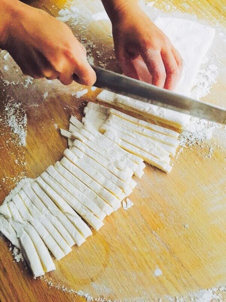 Hand made noodle(Teuchi Udon ) Making Class