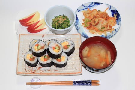 Let's experience Japanese home cooking at my house!