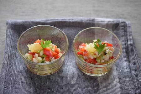 Japanese cuisine based on barley and other Japanese cuisine dishes