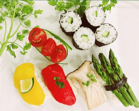 Vegetarian & Vegan Sushi