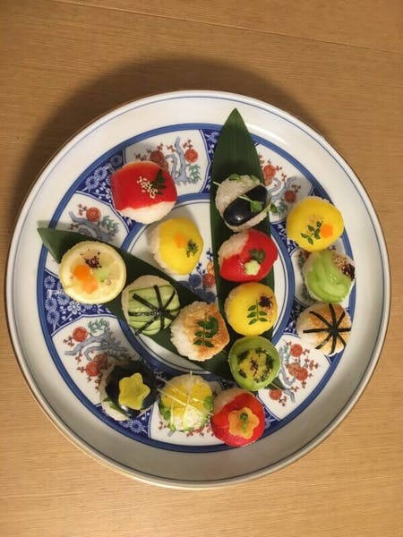 Vegetarian Vegan Artistic Sushi making course