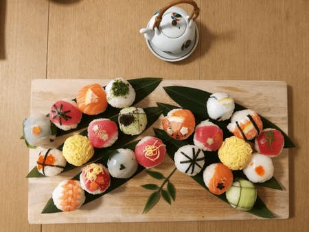 Temari sushi course