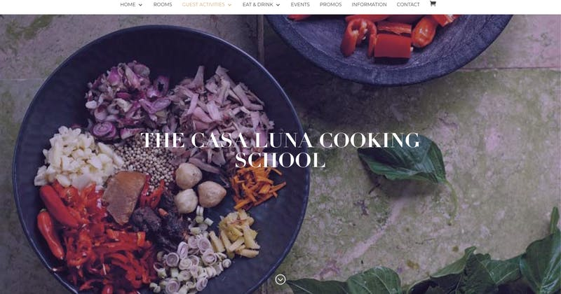 The Casa Luna Cooking School
