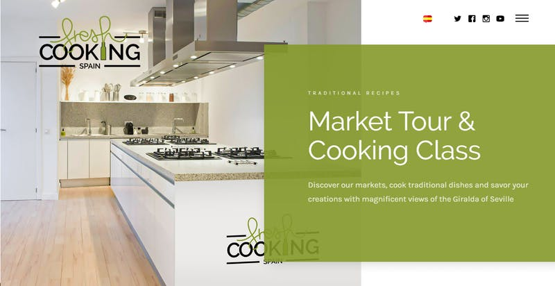 Fresh Cooking Spain: Market Tour & Cooking Class