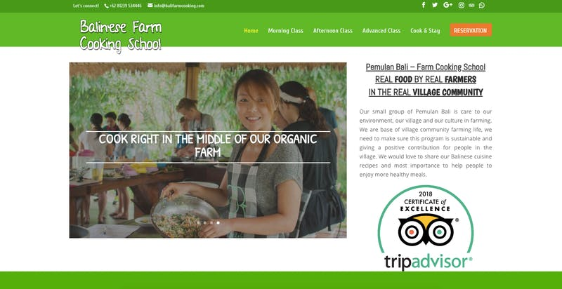 The Balinese Farm Cooking School
