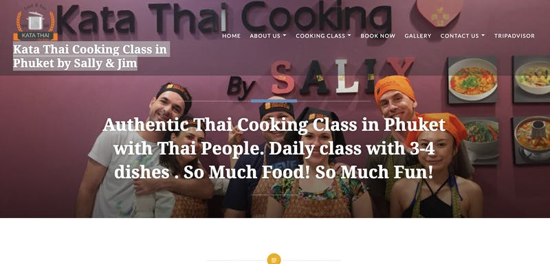Kata Thai Cooking Class in Phuket by Sally & Jim