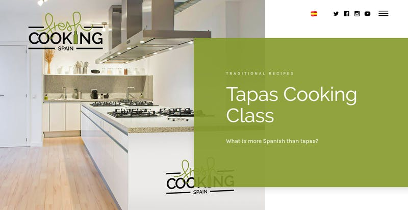 Fresh Cooking Spain: Tapas Cooking Class