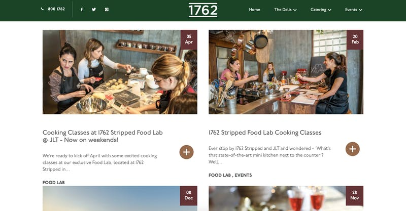 1762 Stripped Food Lab Cooking Classes