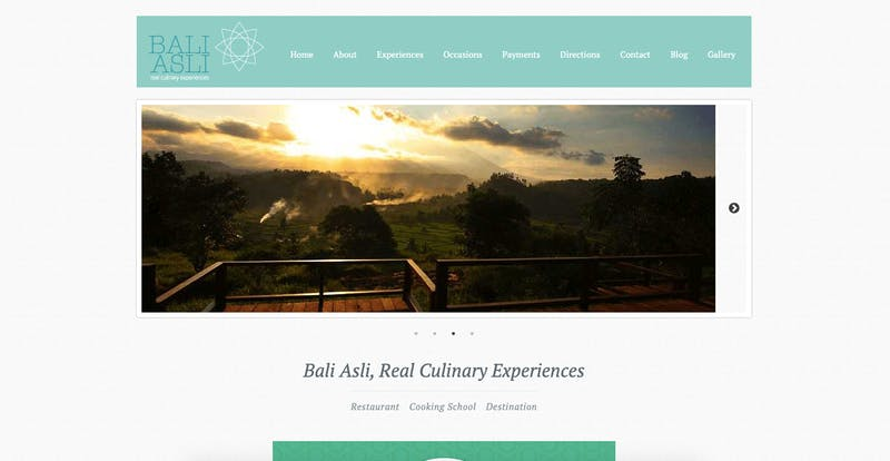 The Bali Asli Real Culinary Experiences