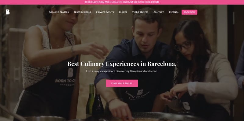 Born To Cook in Barcelona