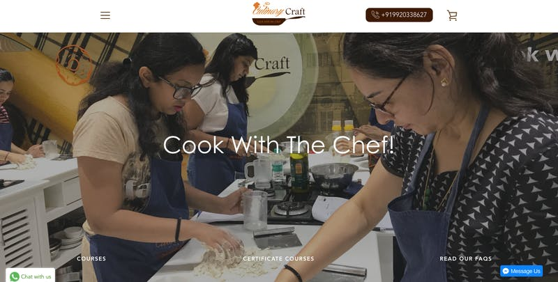 Cooking with Culinary Craft In Mumbai