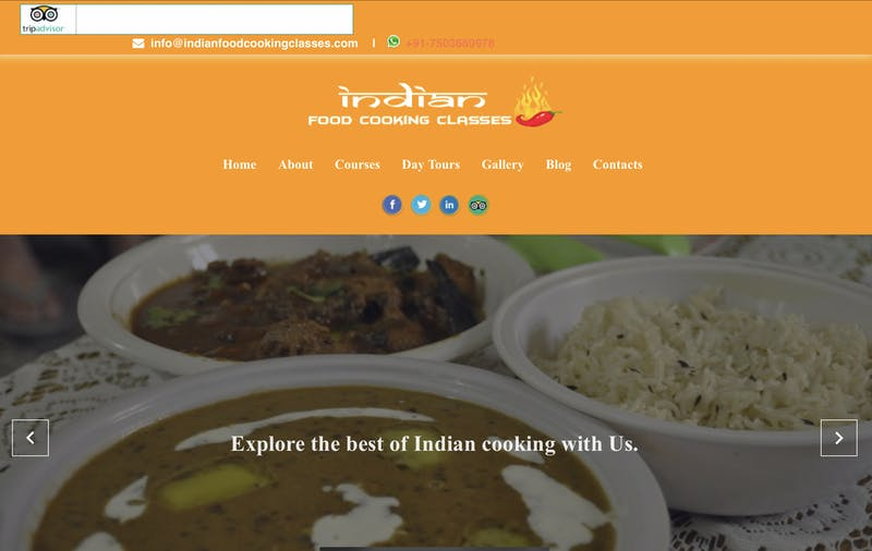 Indian Food Cooking Classes